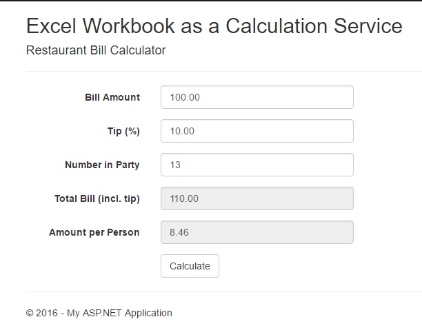 excel as a calculation service 2 code moggy s blog